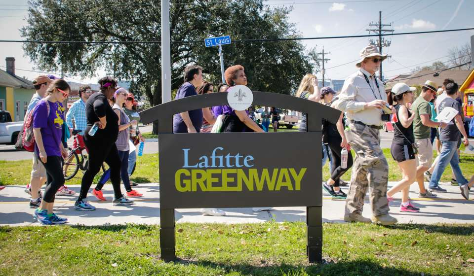 Hike the Lafitte Greenway