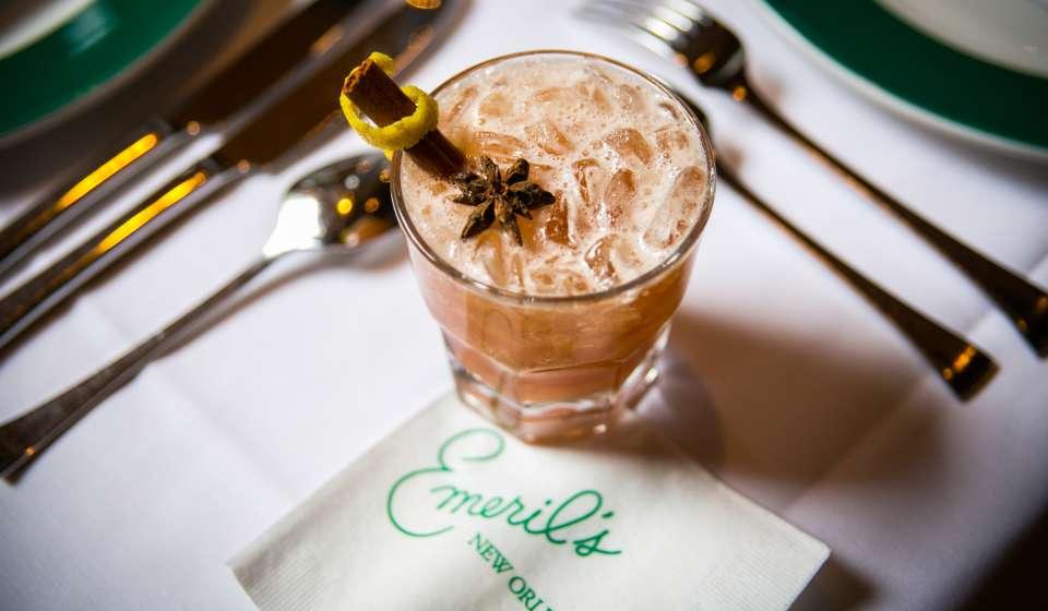 Emeril's Restaurant- Reveillon Holiday Cocktail