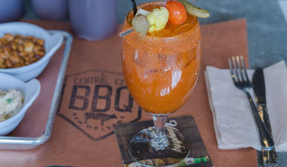 Brisket, Brisket Burnt Ends, Boudin, Kimchi Bloody Mary, Cider - Central City BBQ