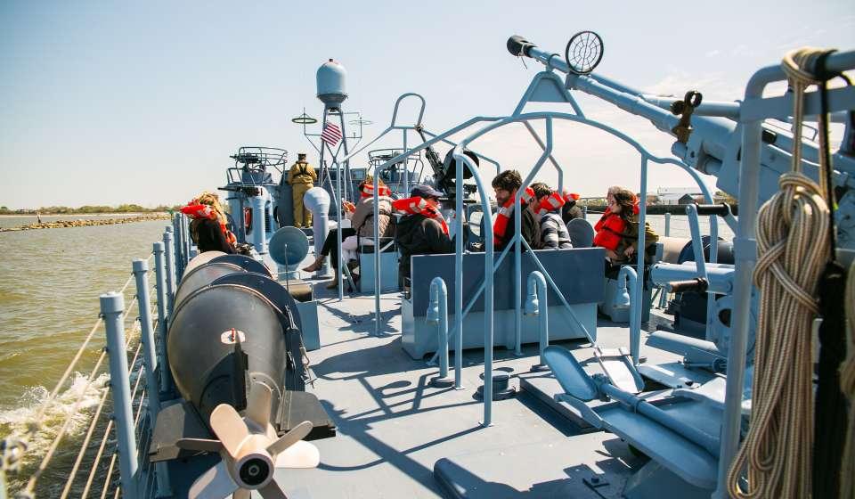 National World War II Museum- PT-305 Boat Ride