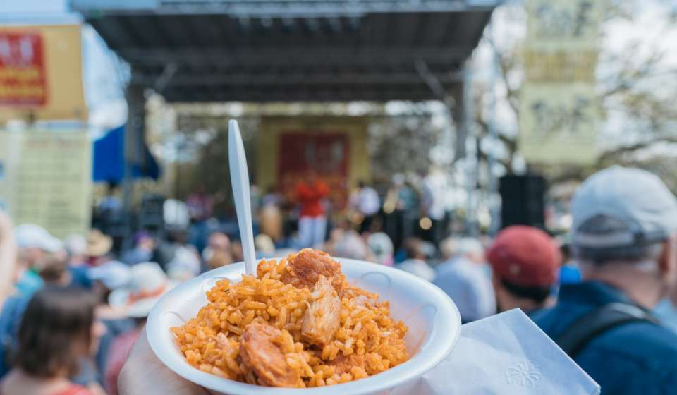Creole Jambalaya - Palmer's Cuisine - Congo Square New World Rhythms Fest 2017