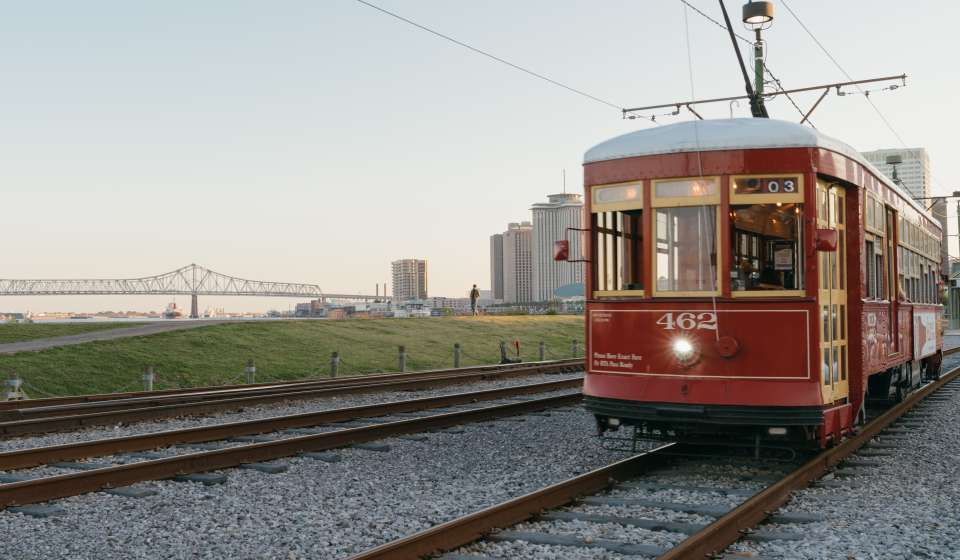 Streetcar In New Orleans Map.Streetcars In New Orleans