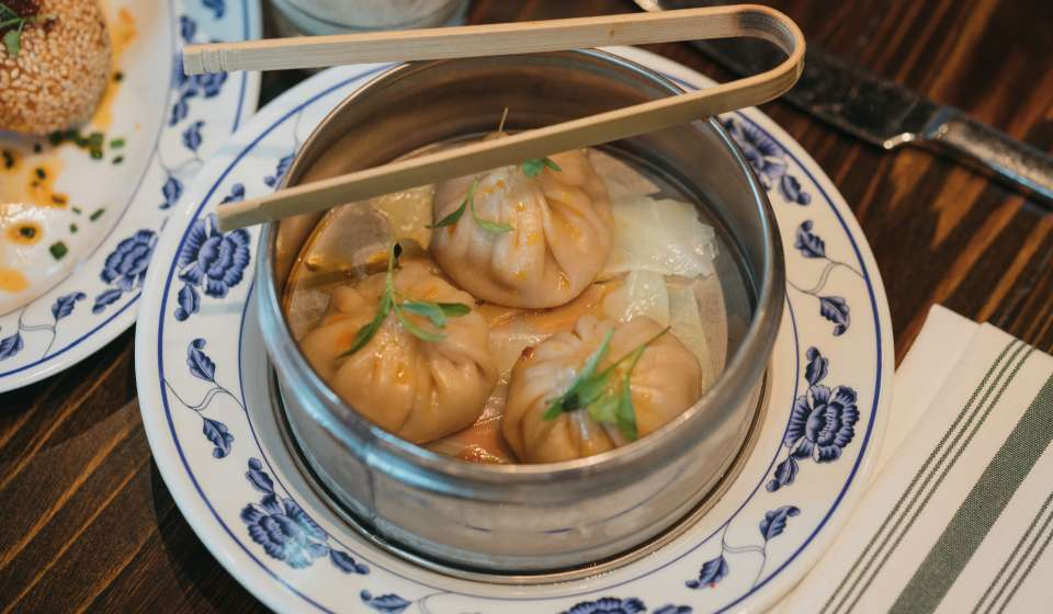 Soup Dumplings- Maypop Dim Sum Brunch