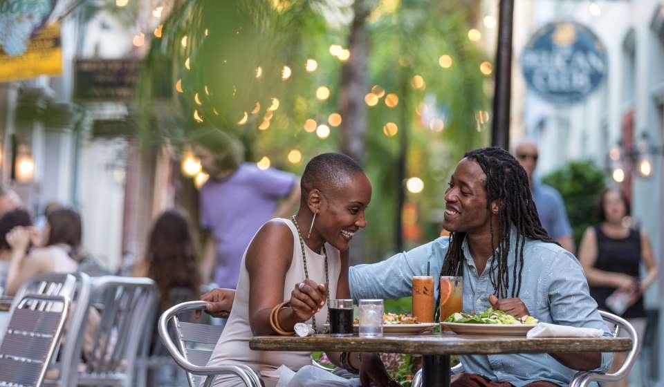 Exchange Place Dining- Romantic