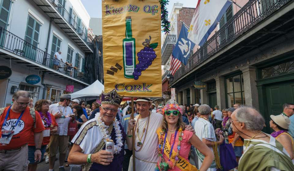 Royal Street Stroll - New Orleans Wine and Food Experience