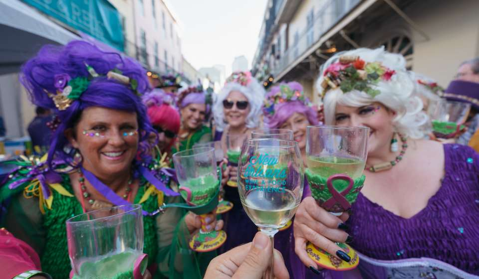 New Orleans Wine & Food Experience - Royal Street Stroll