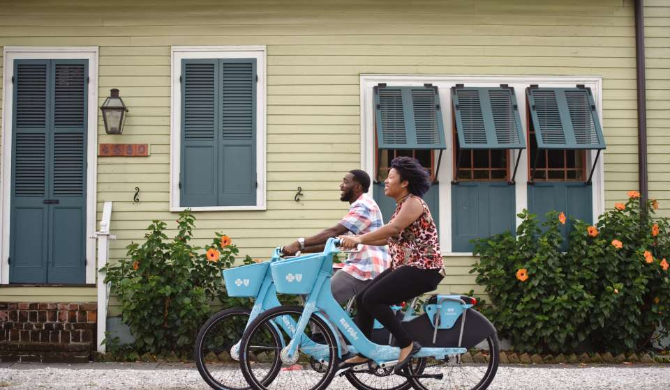 Blue Bikes in New Orleans – New Orleans, LA