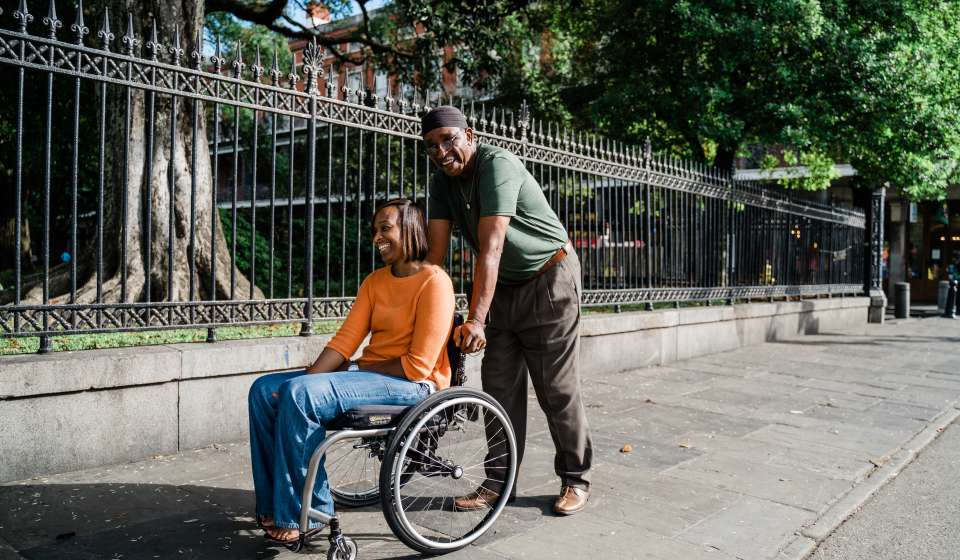 Exploring the French Quarter by Wheelchair