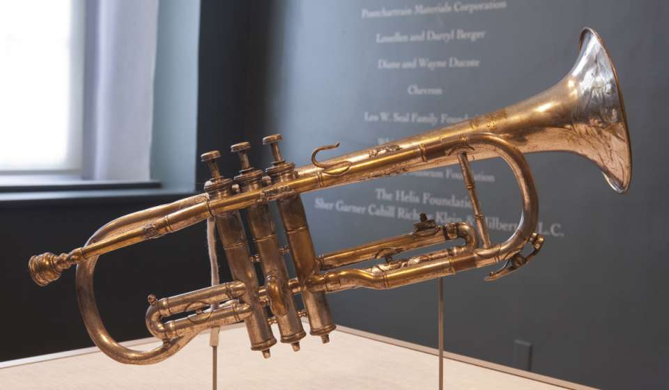 Louis Armstrong's Cornet - New Orleans Jazz Museum