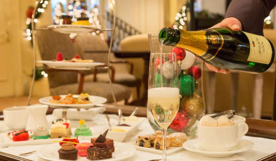 Holiday Tea at the Ritz-Carlton