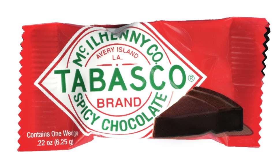 TABASCO Spicy Dark Chocolate Singles