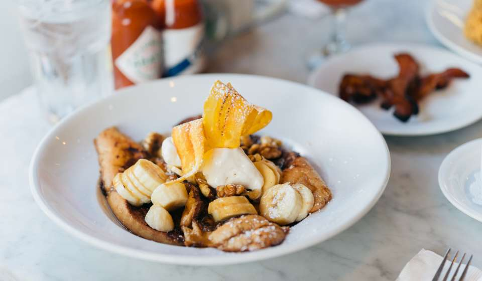 Bananas Foster French Toast - Stanley