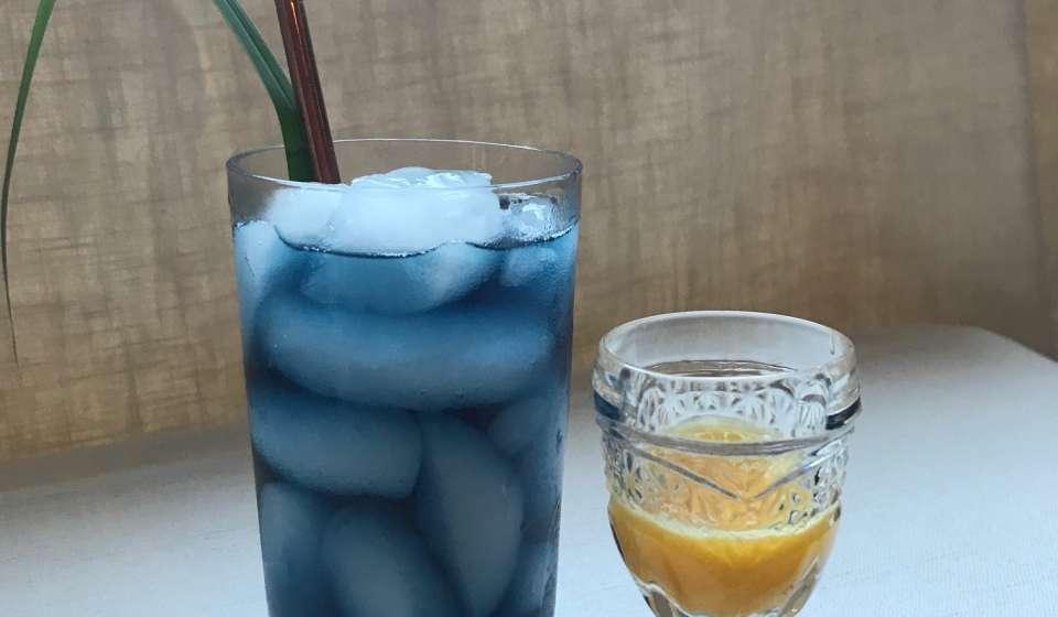 Seed's Chameleon Cooler Mocktail