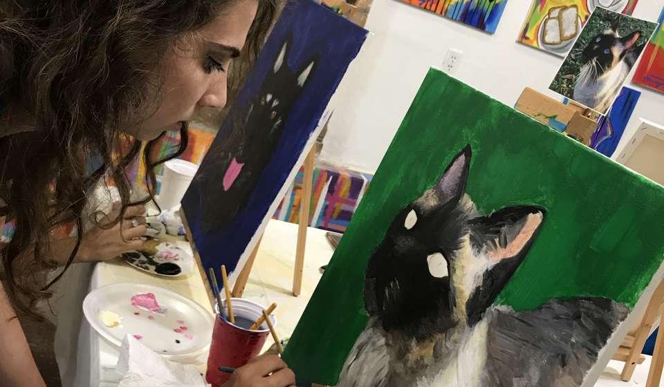 Artist Journey Painting Studio