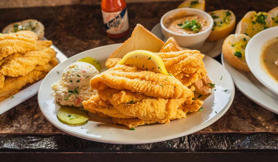 Fried Catfish - Barrow's