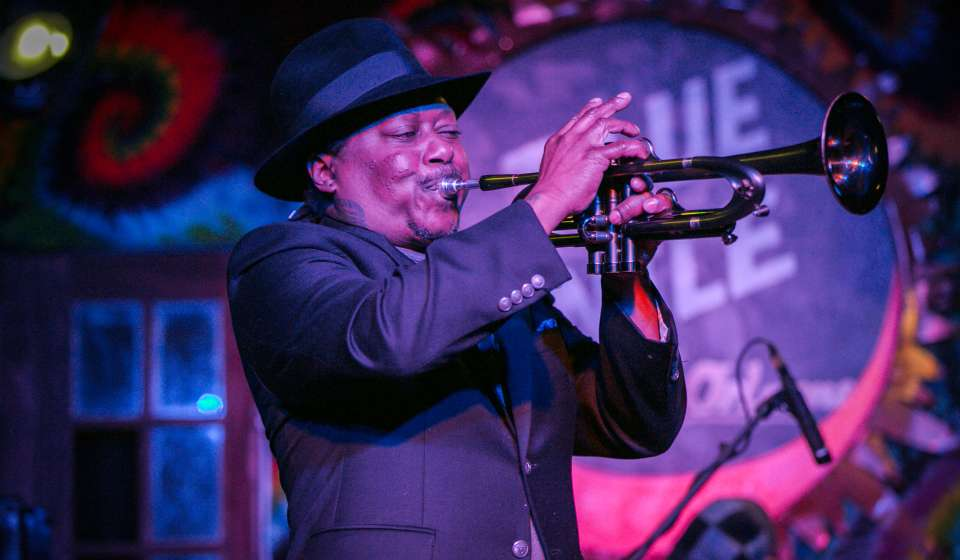 Kermit Ruffins at Blue Nile
