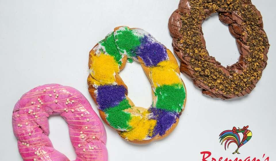 Brennan's King Cakes