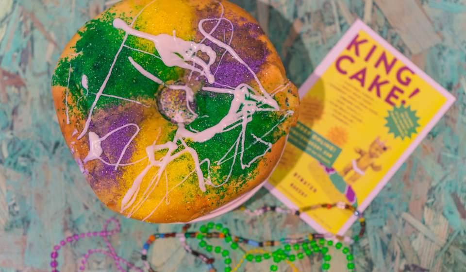Bywater Bakery King Cake