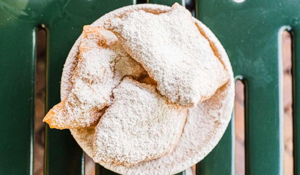 Beignets from Cafe du Monde