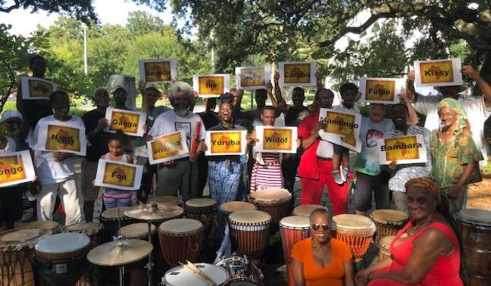 Congo Square Drum Circle