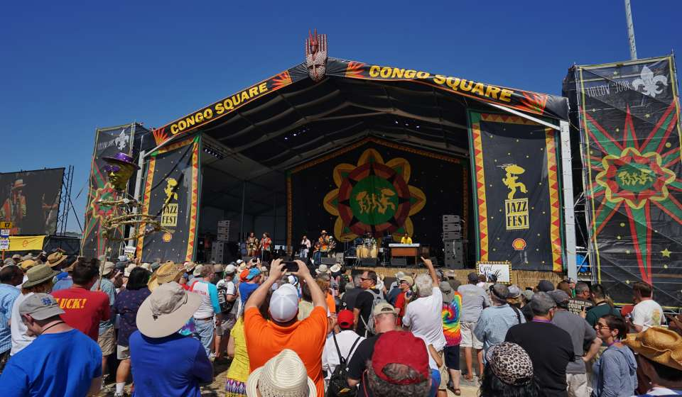 Congo Square Stage - New Orleans Jazz and Heritage Festival