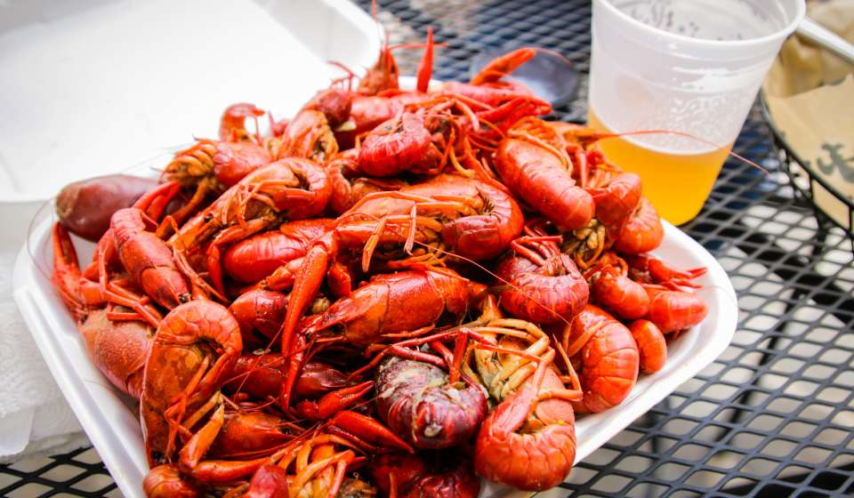 Crawfish Boil - Bayou Beer Garden