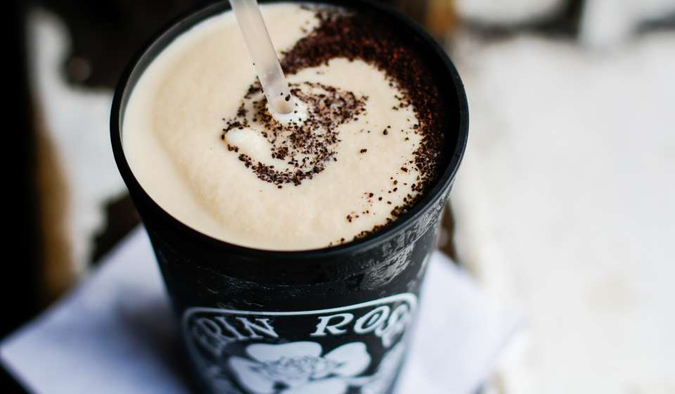 Frozen Irish Coffee - Erin Rose