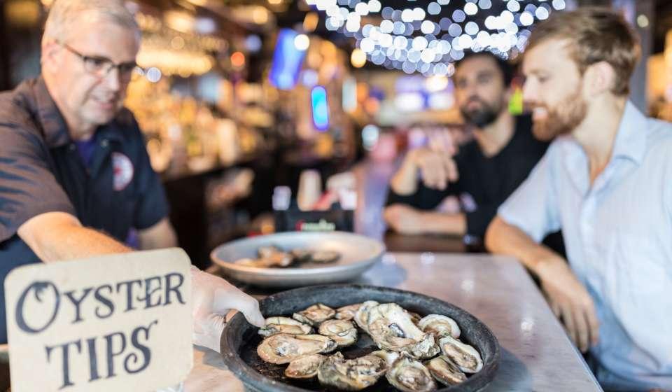 Oysters - Frankie & Johnny's