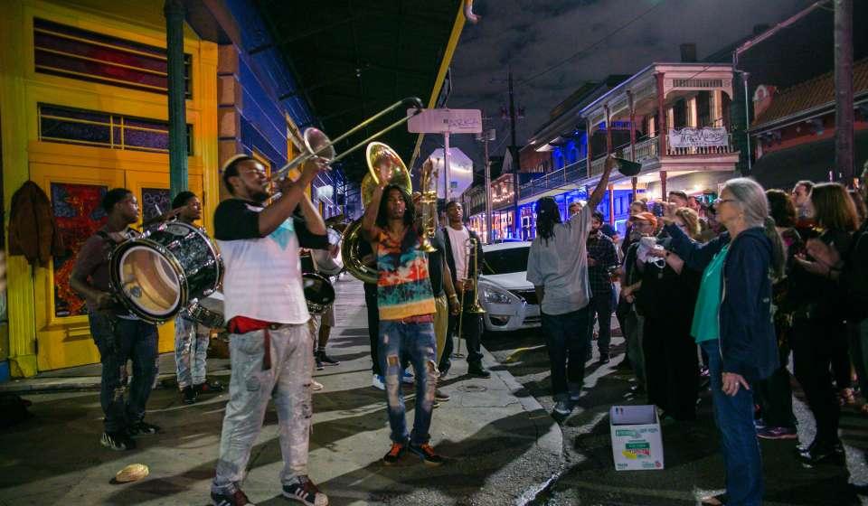 Frenchmen Street musicians
