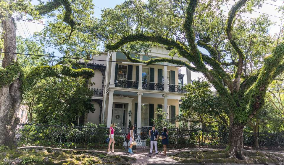 Exploring the Garden District
