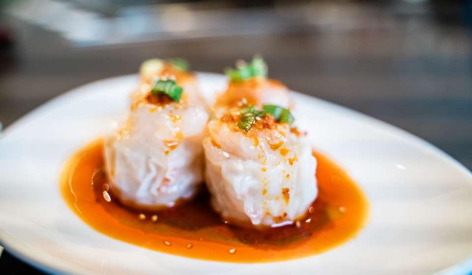 Chili Shrimp Shumai - Gyu Kaku