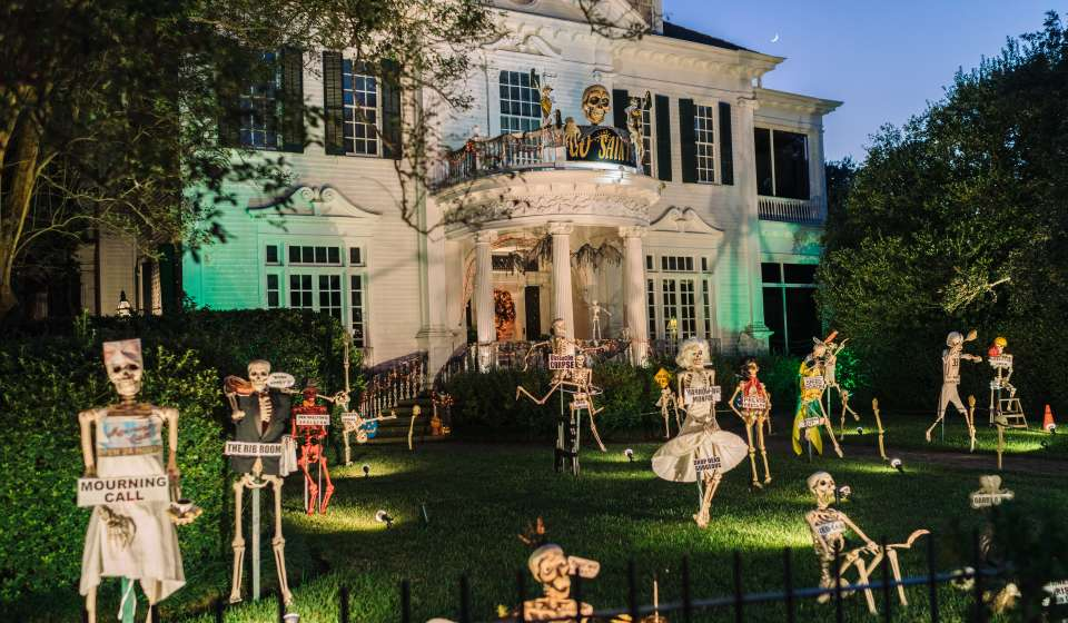 Halloween Decorations - St. Charles Avenue