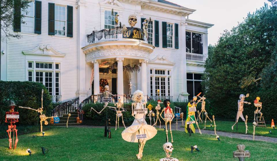 New Orleans Halloween Decorations