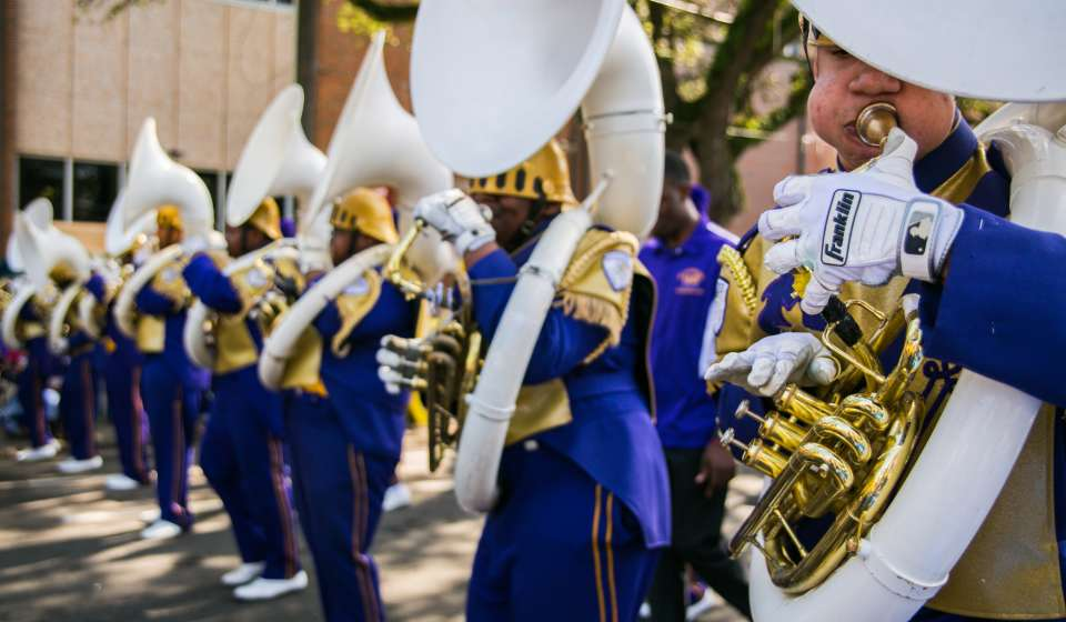 St. Augustine High School Marching 100