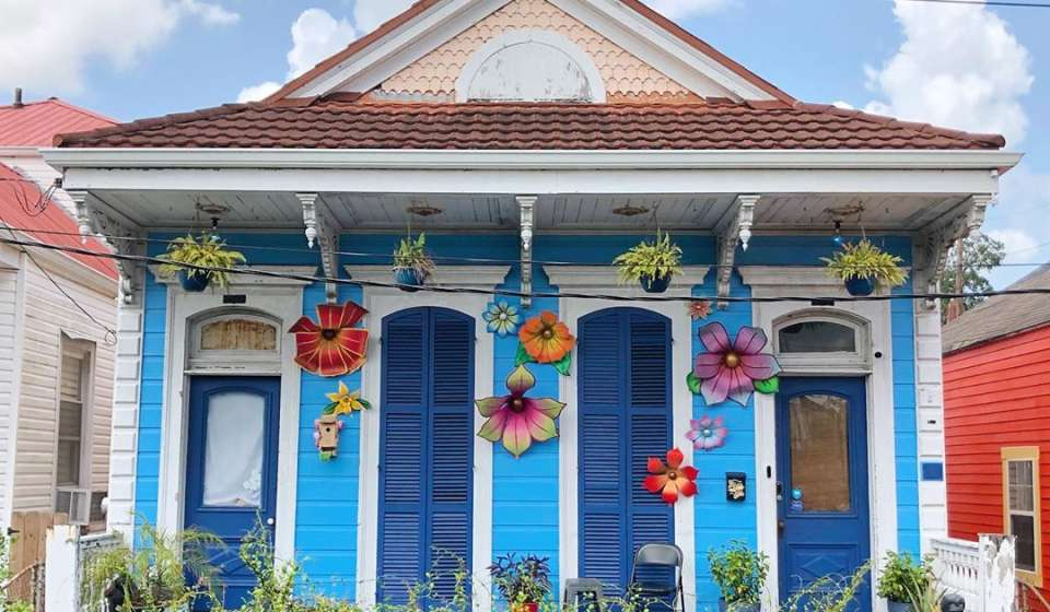 HomesOfNewOrleans, Flower House