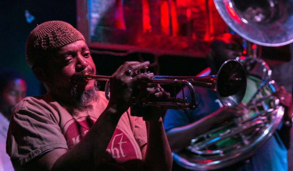 Hot 8 Brass Band at the Howlin' Wolf