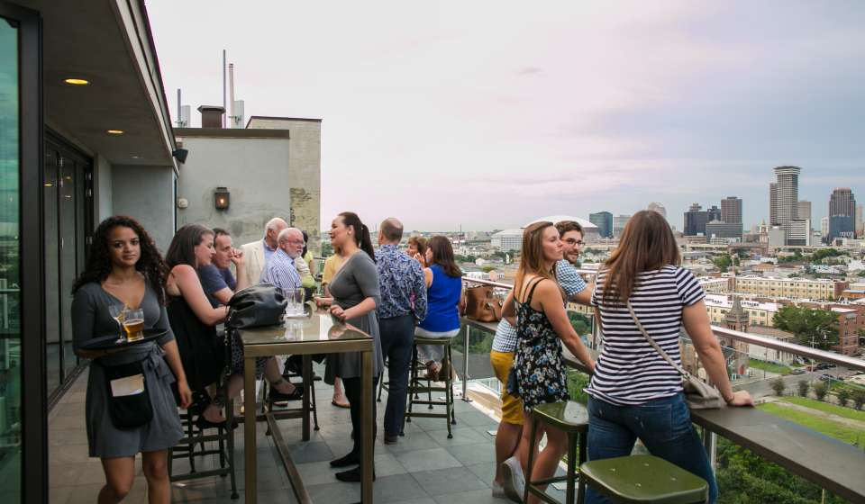 Hot Tin Rooftop Bar