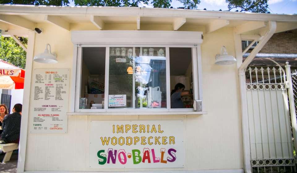 Imperial Woodpecker Sno-Balls
