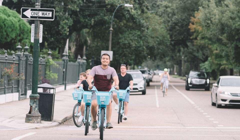 Biking Around New Orleans