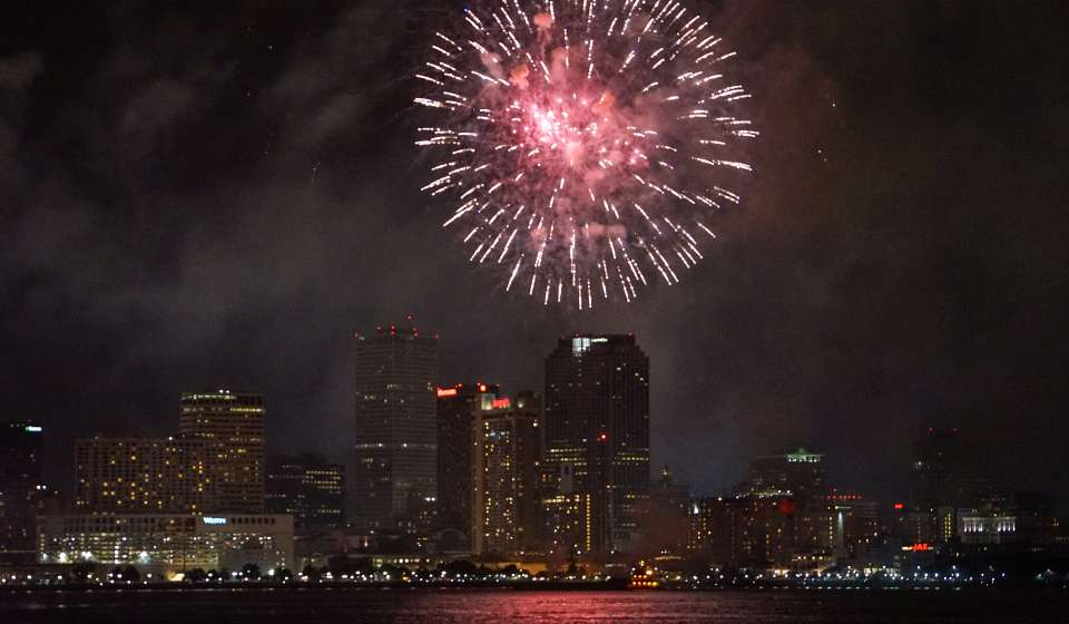 July 4th Fireworks - New Orleans