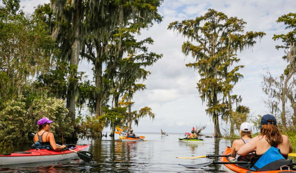 Lost Lands Kayak Tour
