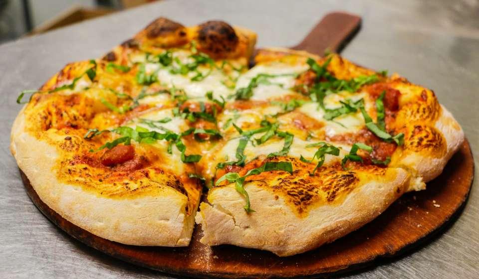 Make a Reginelli's pizza at home