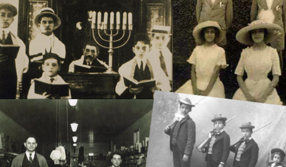 Collage of Artifacts - Museum of Southern Jewish Experience