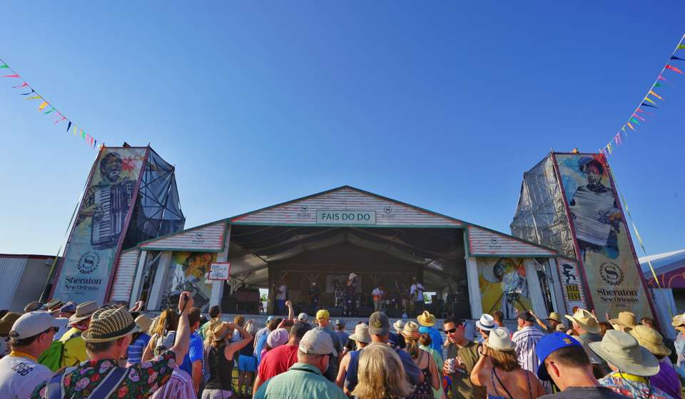 Jazz Fest - Fais Do Do Stage