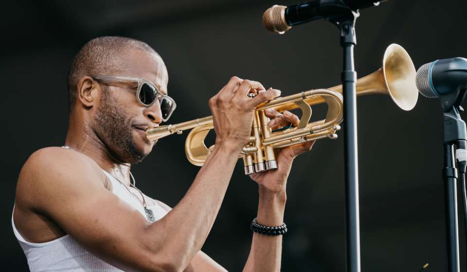 Trombone Shorty - New Orleans Jazz & Heritage Festival