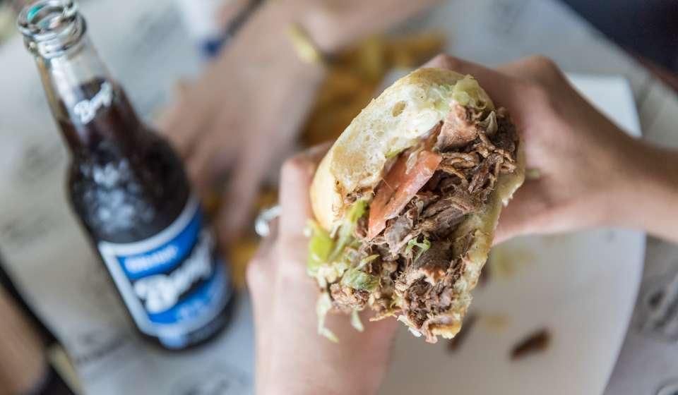 Parkway's Roast Beef Po-Boy