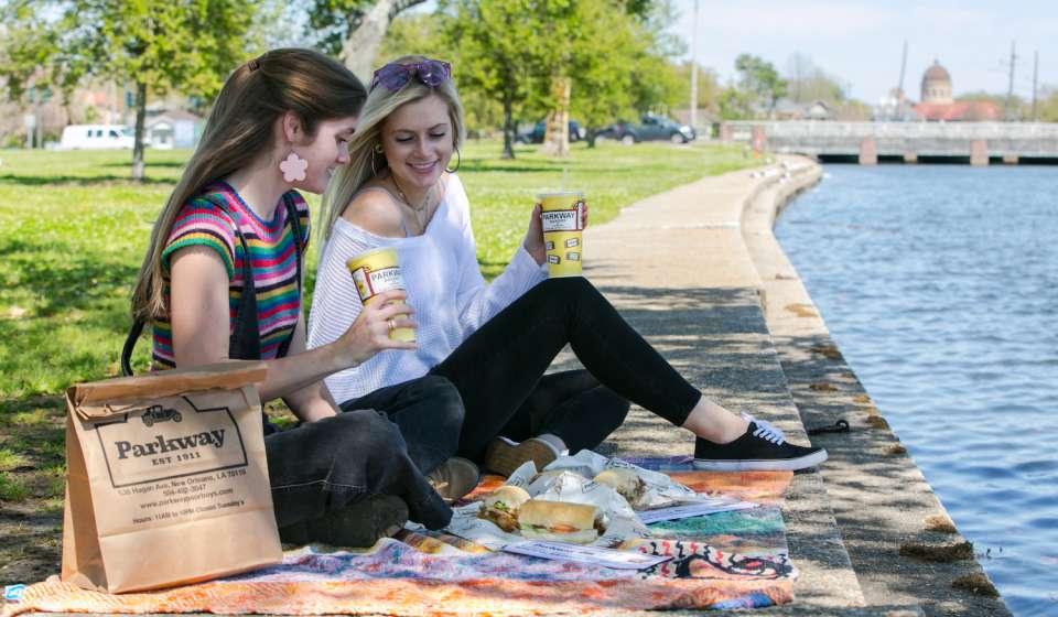 Bayou St. John picnic