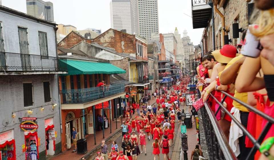 Filmed in New Orleans