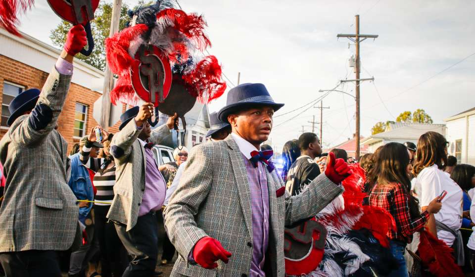 Sportsman Hard Hitters Social Aid & Pleasure Club - Second Line
