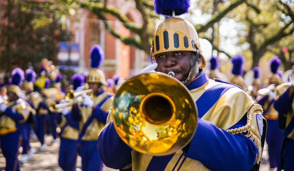 "St. Augustine High School ""Marching 100"" - Mardi Gras"